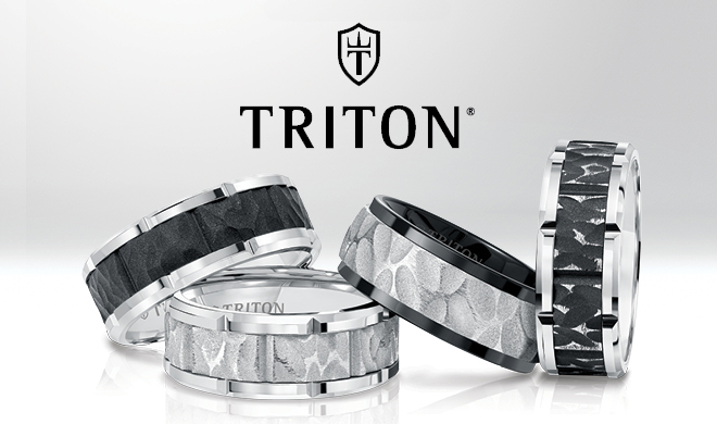 triton engagement rings wedding bands
