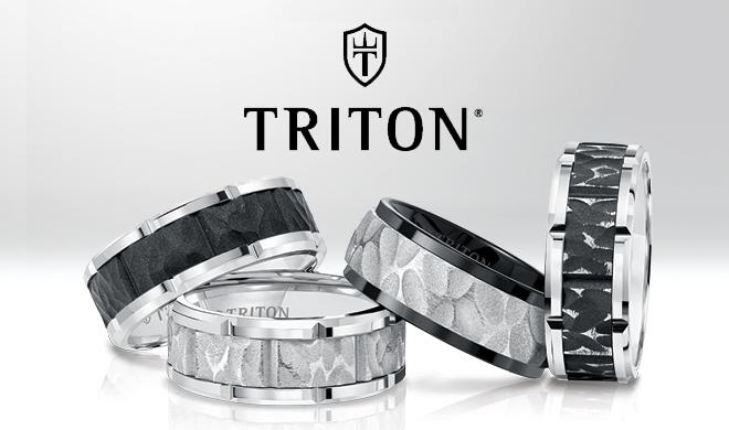 triton engagement rings wedding bands