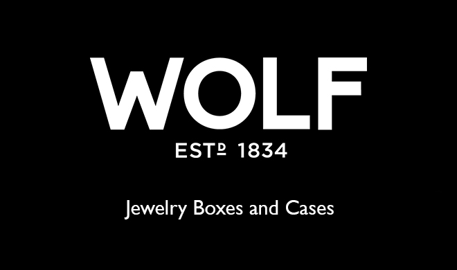 wolf jewelry boxes and cases