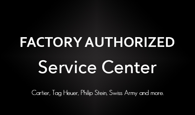 factory authorized watch repair