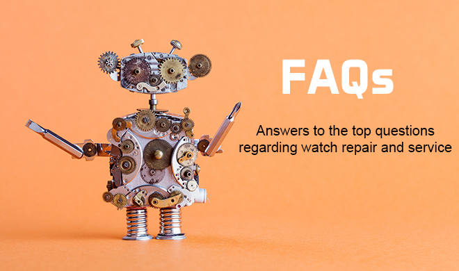 FAQ watch repair