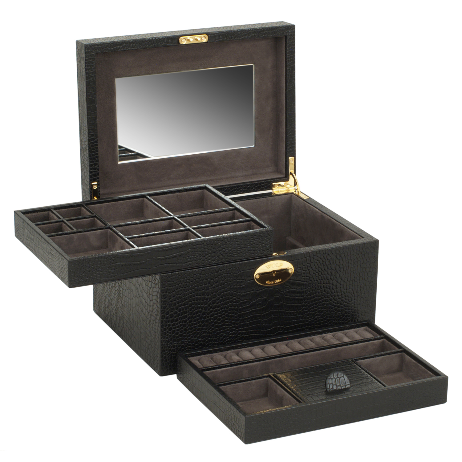 Jewelry Boxes Cases Wolf Designs Jewelry Box Amp Travel Case