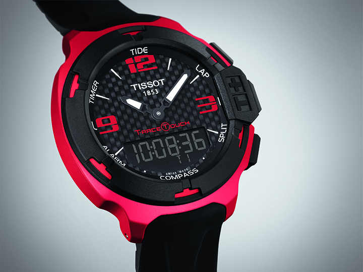 tissot t race touch watch