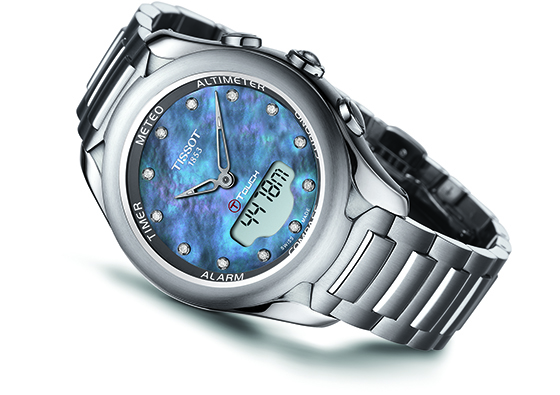 tissot t touch lady solar watch