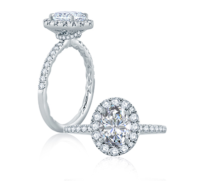 a jaffe engagement rings classic collection