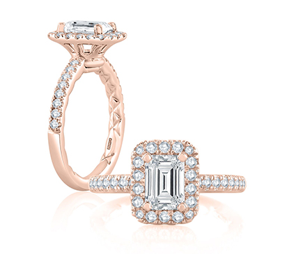 a jaffe engagement rings pirouette collection