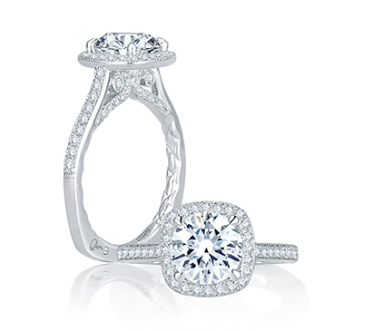 a jaffe engagement rings seasons of love collection